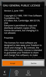 Wordpress GNU license