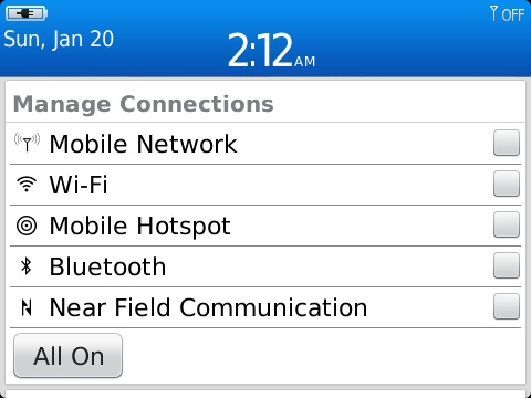 9360/7.1.0.794 Manage Connections