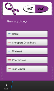 CF PillPad HD [Canada pharmacy listing]