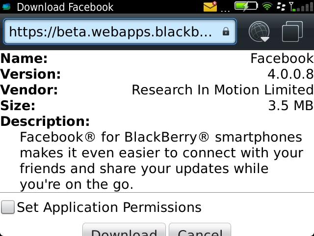 Facebook 4.0.0.8