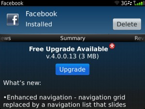 Facebook for BB 4.0.0.13