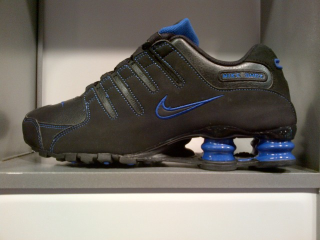 Nike Shox NZ Black/Blue