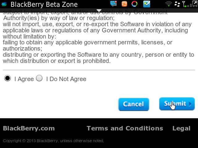 Facebook for BB 4.0.0.12 Beta Zone