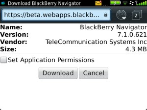 BB Navigator 7.1.0.621 Download and Install