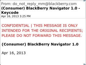 BB Navigator 7.1.0.621 Keycode via BB Beta Zone
