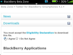 Twitter for BB 4.10.12 Accept