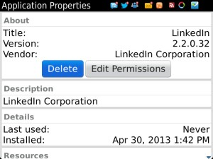 LinkedIn 2.2.0.32